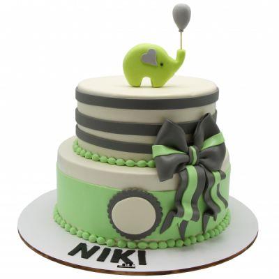 کیک تولد فوندانت TF23
