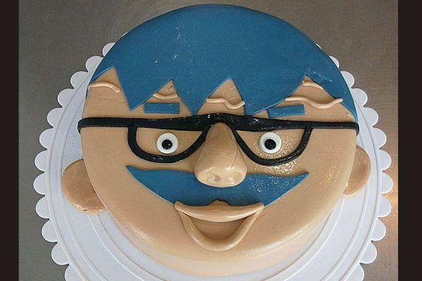 کیک تولد فوندانت TF33