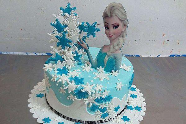 کیک تولد دخترانه السا 5