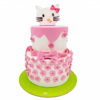 کیک تولد دخترانه کیتی 6