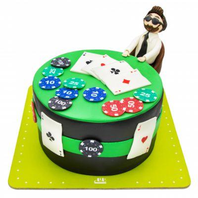 کیک تولد فوندانت TF48