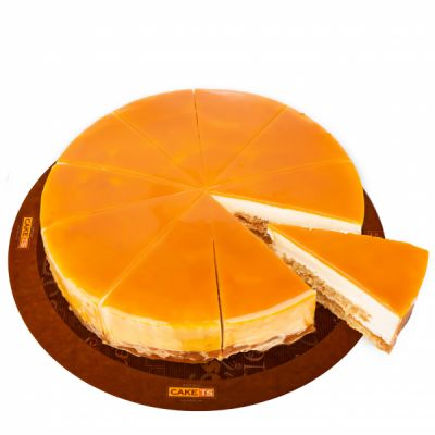 کیک تافی کارامل کافی شاپی