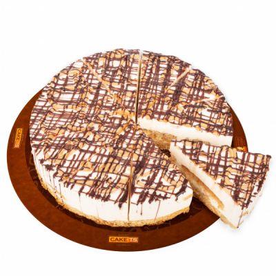 کیک بادام زمینی کافی شاپی
