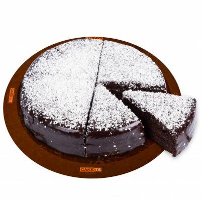 کیک گاناش کافی شاپی