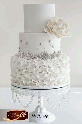 کیک سفارشی عروسی  WA06