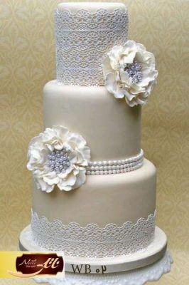 کیک سفارشی عروسی  WB02