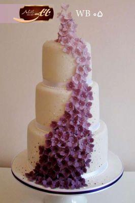 کیک عروسی آبشار
