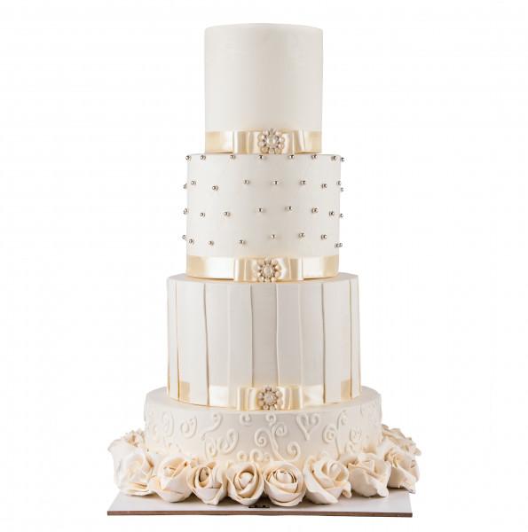 کیک سفارشی عروسی  WB10
