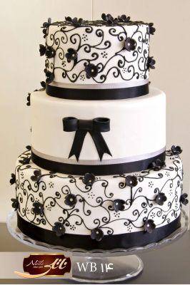 کیک سفارشی عروسی  WB14