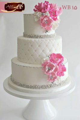 کیک عروسی گل آرا