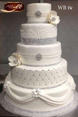 کیک سفارشی عروسی  WB16