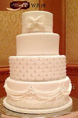 کیک سفارشی عروسی  WB19