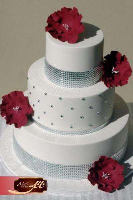 کیک سفارشی عروسی WE02