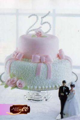 کیک سفارشی عروسی  WE07