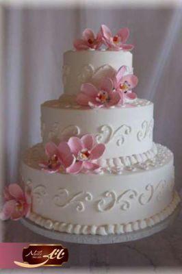 کیک سفارشی عروسی  WE08
