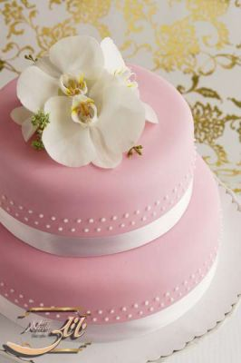 کیک عروسی ارکیده 2