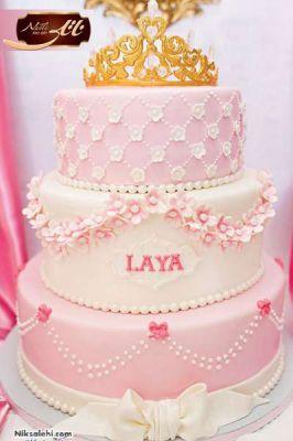 کیک سفارشی عروسی  WE12