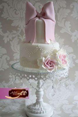کیک سفارشی عروسی  WE13