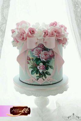 کیک سفارشی عروسی  WE15