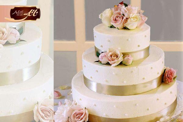 کیک سفارشی عروسی  WE19