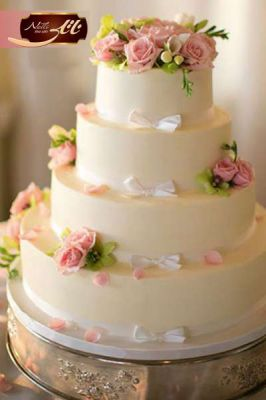 کیک سفارشی عروسی  WE20