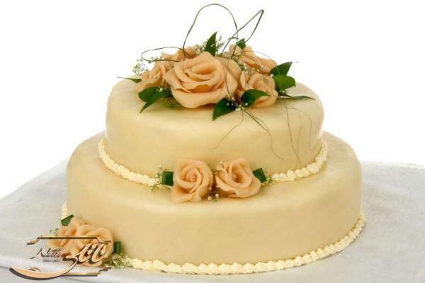 کیک سفارشی عروسی  WE30
