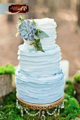 کیک سفارشی عروسی  WE36