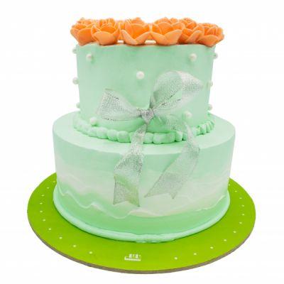 کیک عروسی فیروزه 2