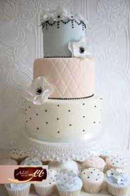 کیک سفارشی عروسی  WE40