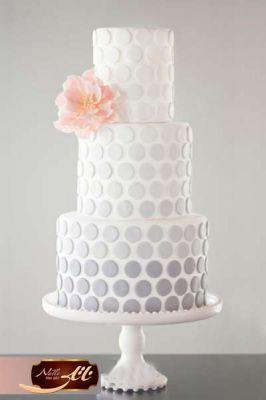 کیک سفارشی عروسی  WE42