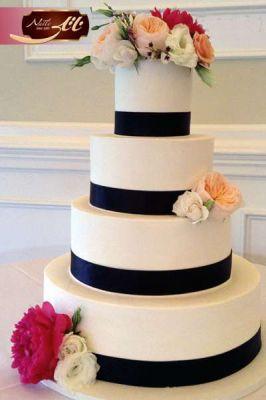 کیک سفارشی عروسی  WE45