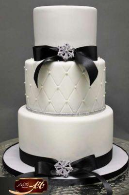 کیک سفارشی عروسی  WE47