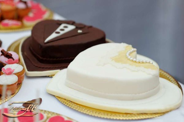 کیک سفارشی عروسی  WE51
