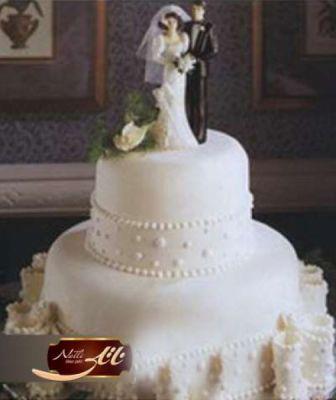 کیک سفارشی عروسی  WE53