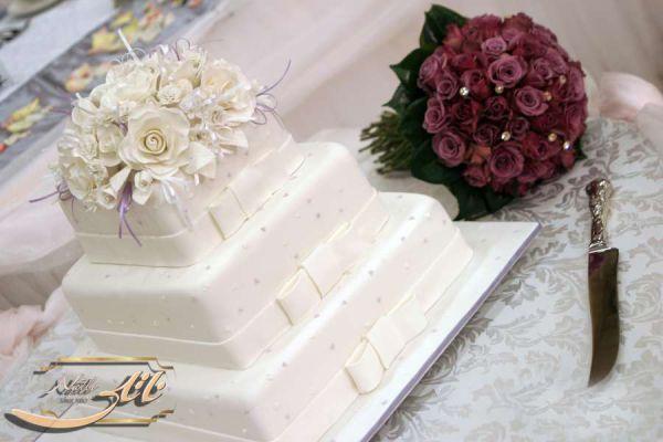 کیک سفارشی عروسی  WE55