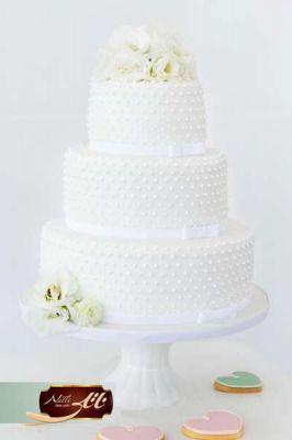 کیک سفارشی عروسی  WE57