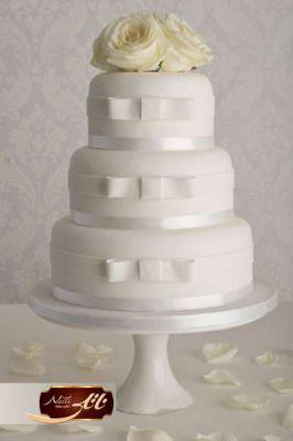 کیک سفارشی عروسی  WE58