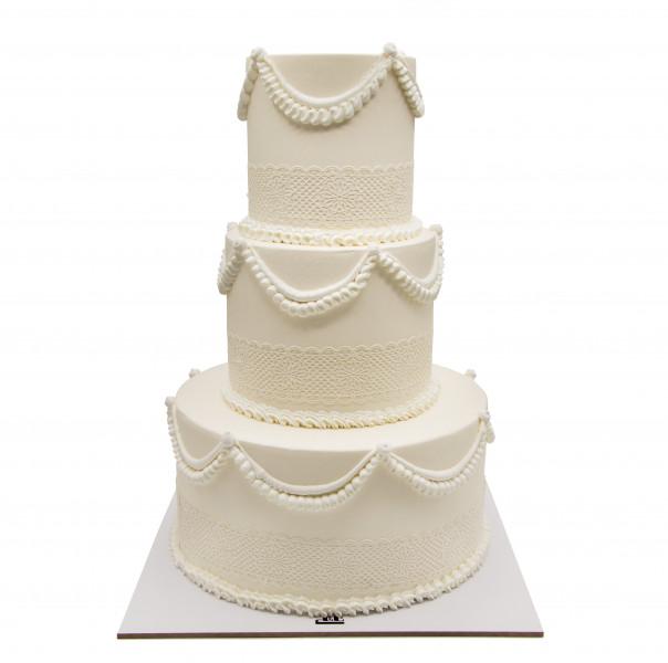 کیک سفارشی عروسی  WE61