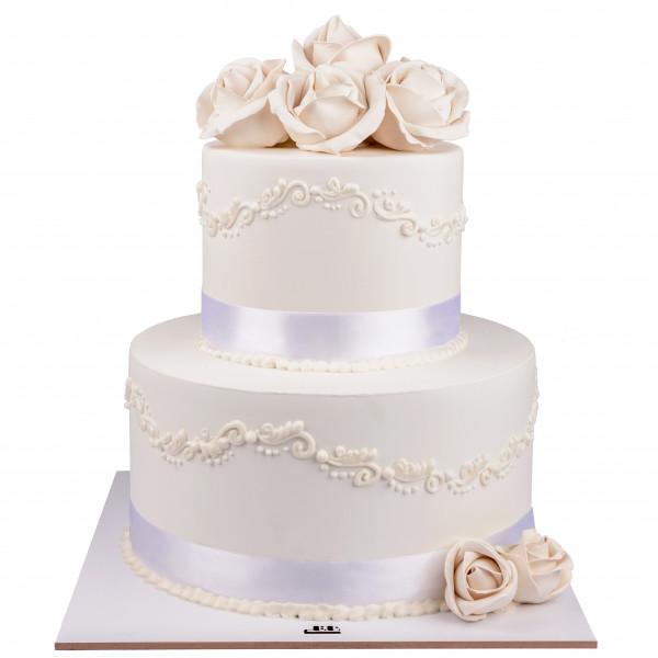 کیک سفارشی عروسی  WE62