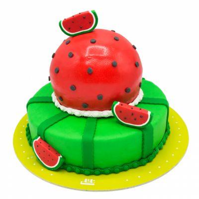 کیک هندوانه ی یلدایی