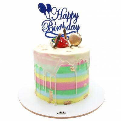 کیک فیگور رنگارنگ