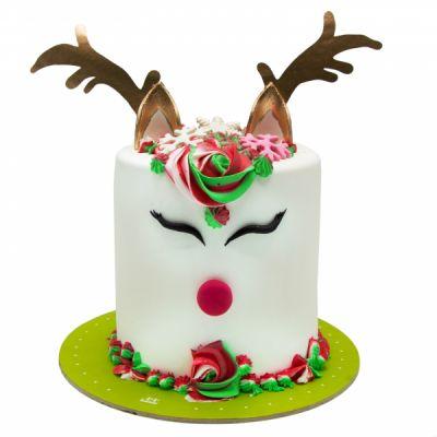 کیک پنگوئن فوندانت