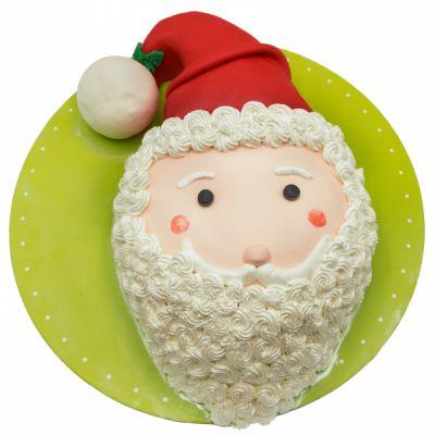 کیک کله آدم برفی
