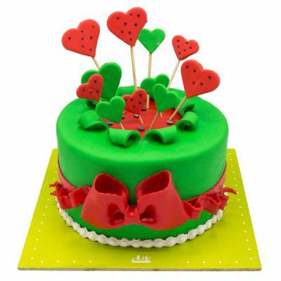 کیک قلبها  yalda10