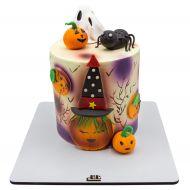 کیک هالووینی دخترانه روز ترسناک