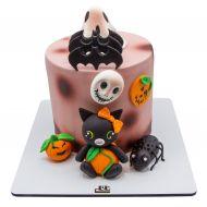 کیک حیوانات ترسناک هالووین