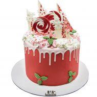 کیک آتشفشان برفی