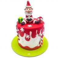 کیک کریسمس بابانوئل