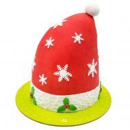 کیک کلاه زمستانی