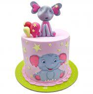 کیک فیل کوچولو دامبو
